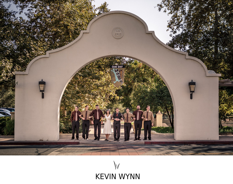 Lavender Inn in Ojai Wedding Photographer