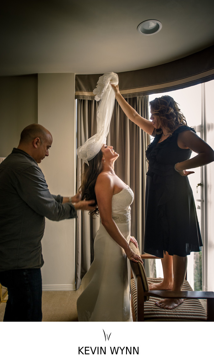 Sunset Tower in Los Angeles Wedding Photographer
