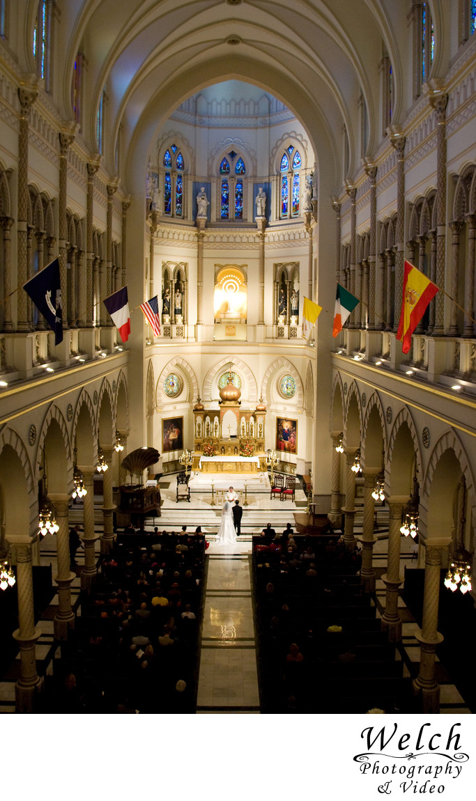 Wedding Immaculate Conception Jesuit Church New Orleans