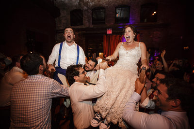 Wedding Hora at MyMoon in Brooklyn New York City