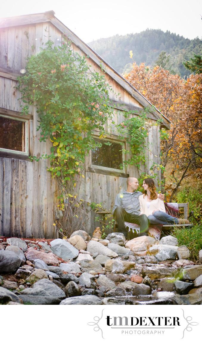 Engagement Photos at Cheyenne Mountain