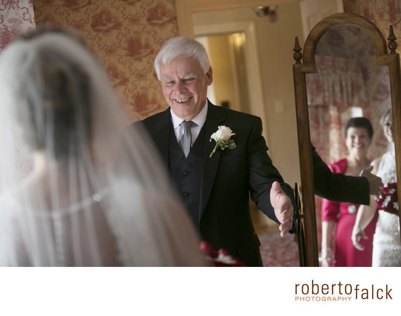 best wedding photographer in new york dad