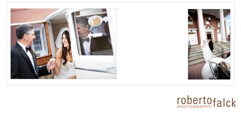 Pleasantdale Chateau Wedding Album - Christina & Doug
