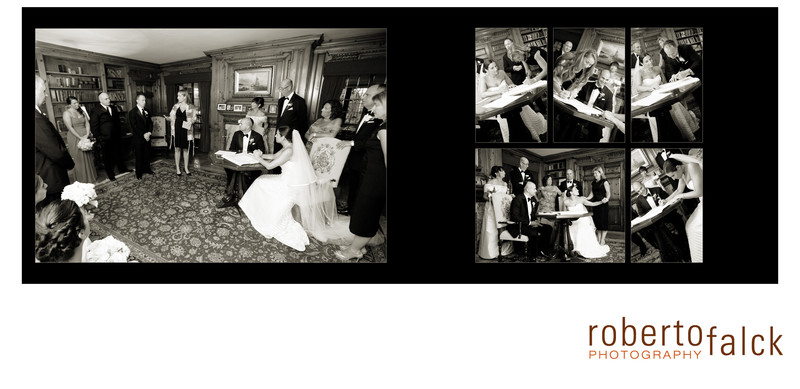 Pleasantdale Chateau Wedding Album - Rachel & George