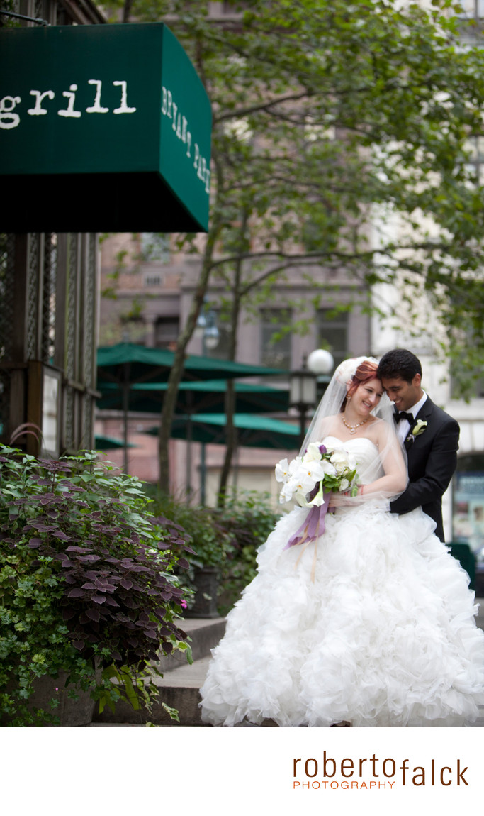bryant park grill new york wedding photographer