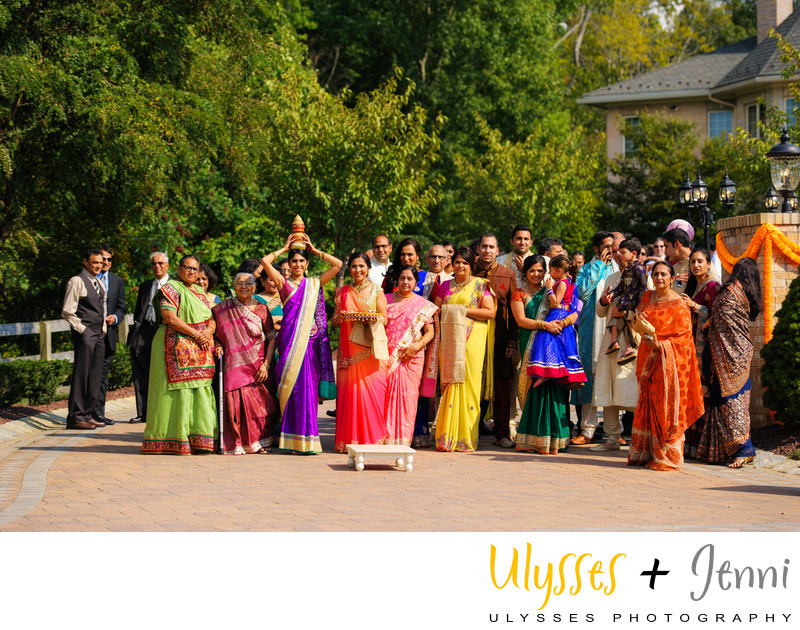 INDIAN WEDDING COLORFUL DRESSES - ULYSSES PHOTOGRAPHY