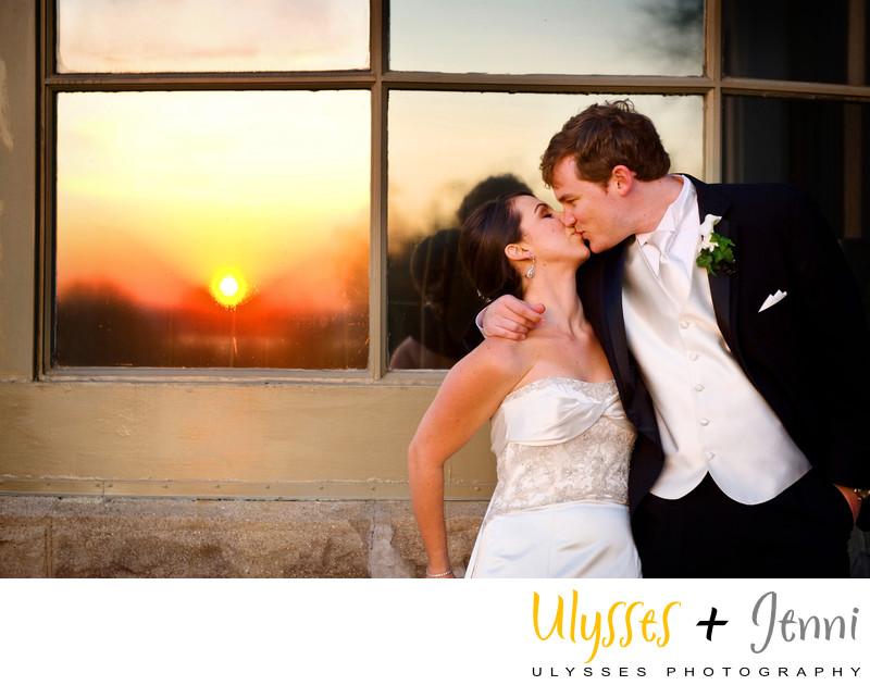 WEDDING SUNSET REFLECTION