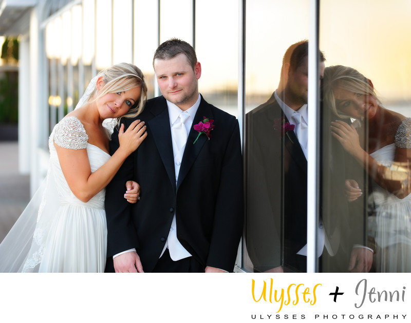WATERFRONT REFLECTIONS ON YOUR WEDDING DAY