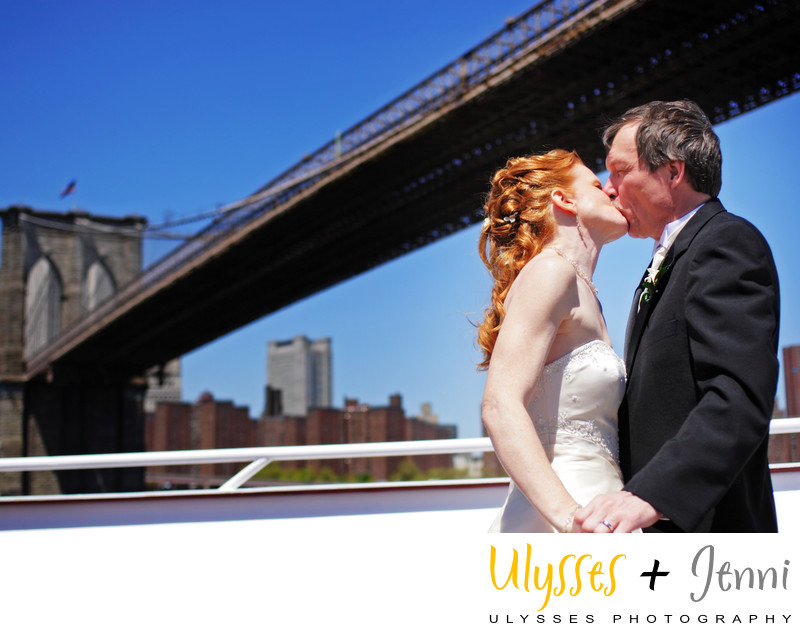 WEDDING PHOTOGRAPHY UNDER THE BROOKLYN BRIDGE