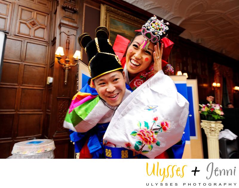 KOREAN WEDDING AT A NY MANSION