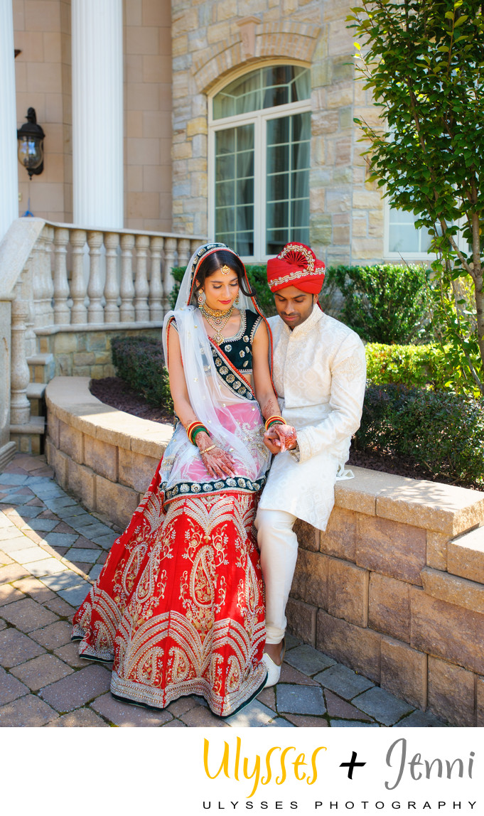 BEAUTIFUL INDIAN WEDDING COUPLE - ULYSSES PHOTOGRAPHY
