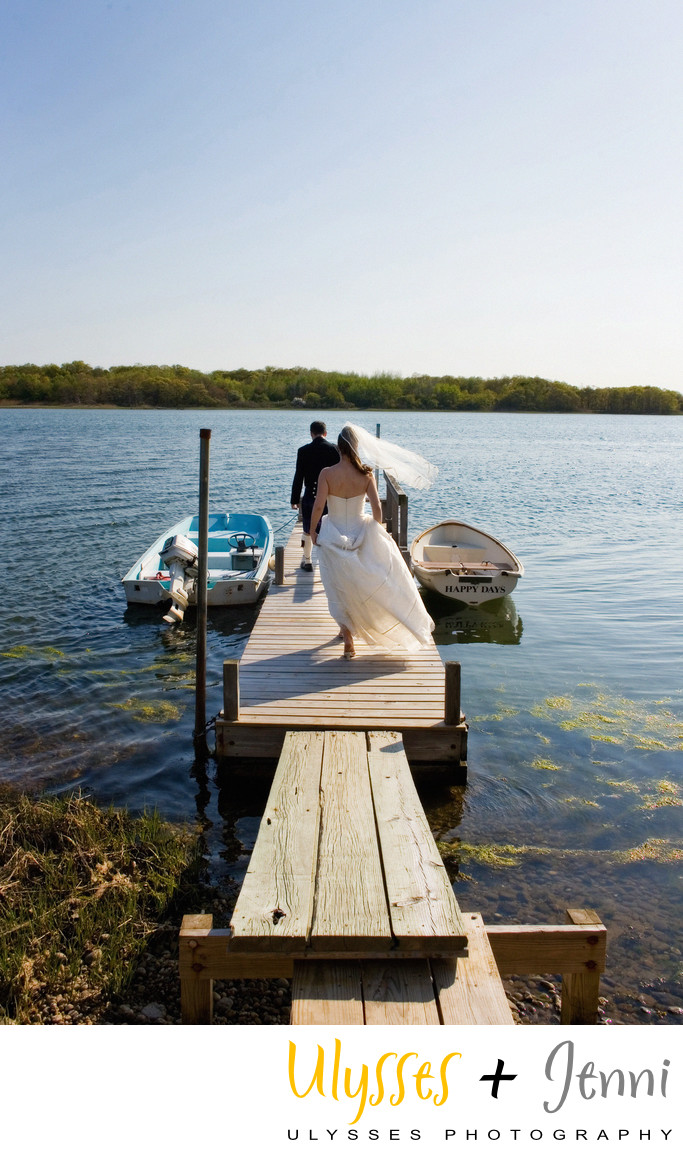 WEDDING ON THE NORTH FORK OF LONG ISLAND