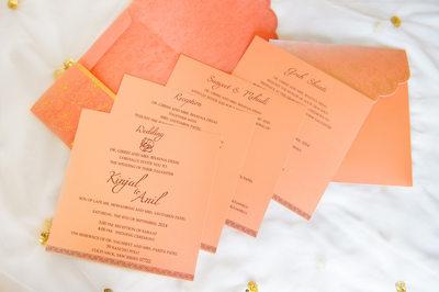 CUSTOM INDIAN WEDDING INVITATIONS - ULYSSES PHOTOGRAPHY