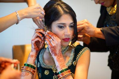 INDIAN WEDDING BRIDAL PREPARATION - ULYSSES PHOTOGRAPHY