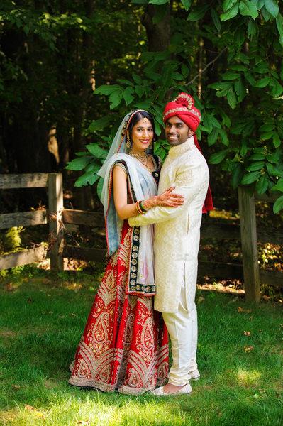 INDIAN WEDDING COUPLE PORTRAIT - ULYSSES PHOTOGRAPHY