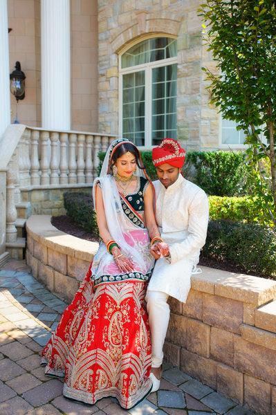 BEAUTIFUL INDIAN WEDDING COUPLE - ULYSSES PHOTOGRAPHY