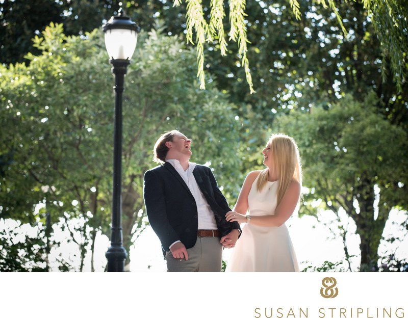 Battery Park Engagment Pictures