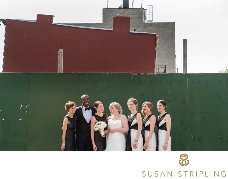 501 Union Wedding Photo