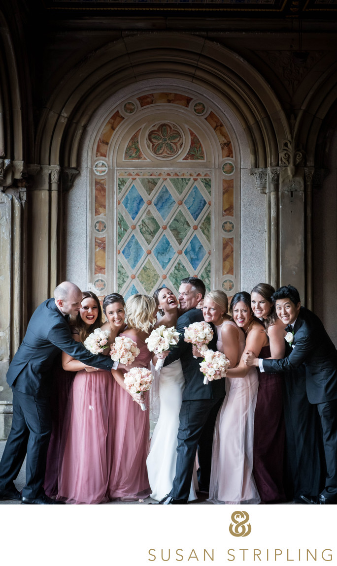 Central Park Wedding Photography: Central Park Boathouse Wedding Pictures