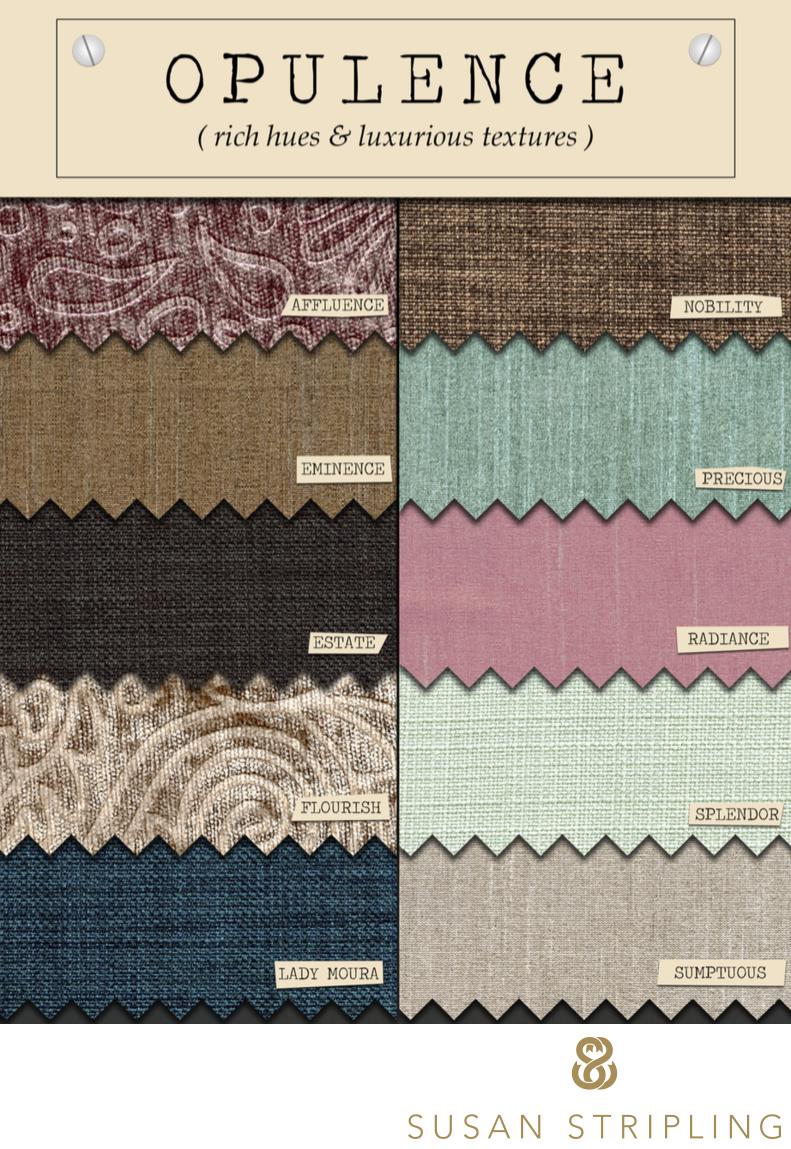 Finao Albums Opulence Fabrics