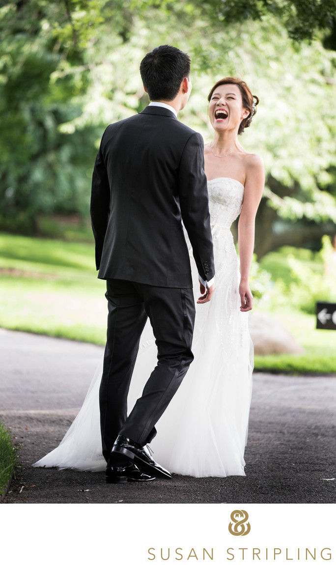 Brooklyn Botanic Garden Wedding Photos