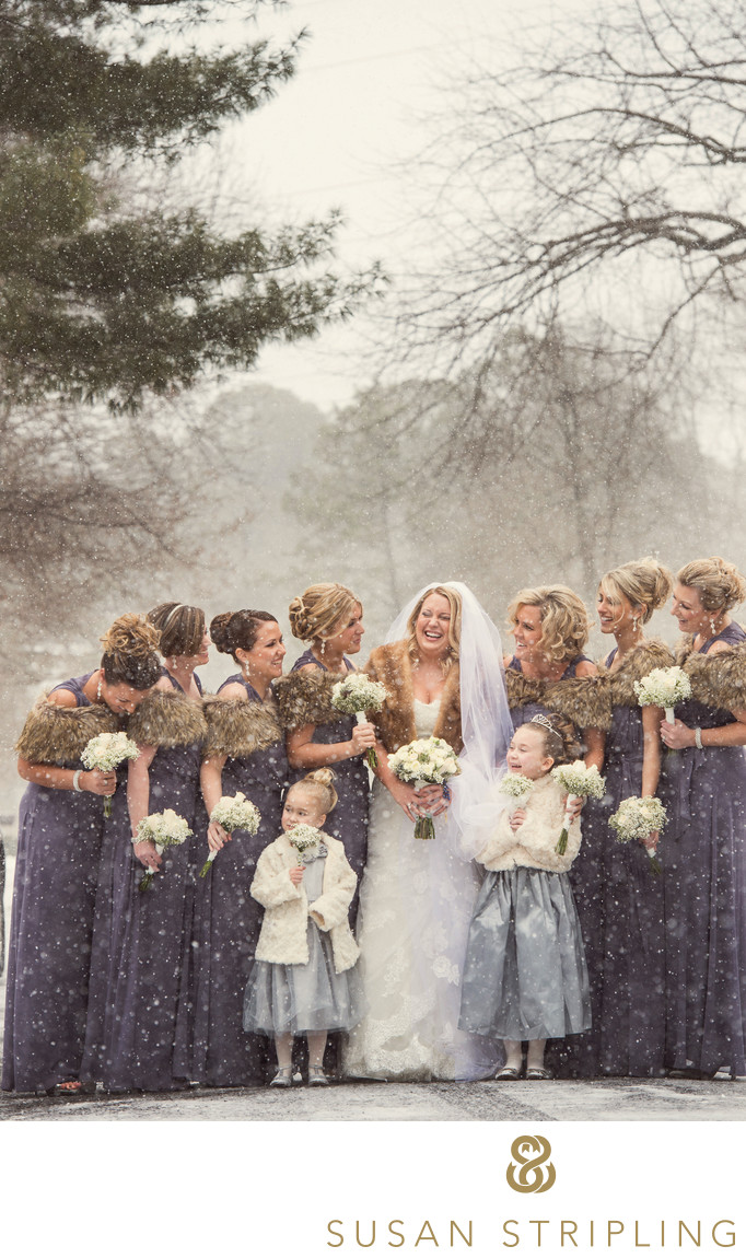 Philadelphia Winter Wedding