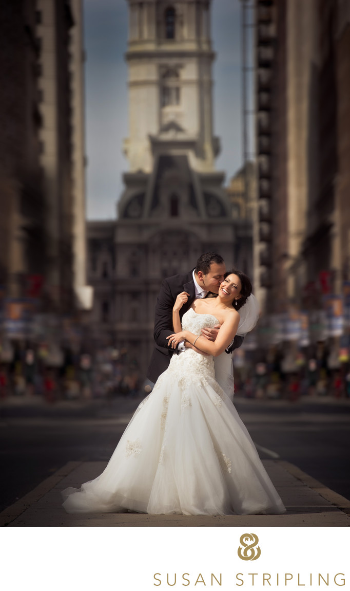 Philadelphia City Hall wedding pictures