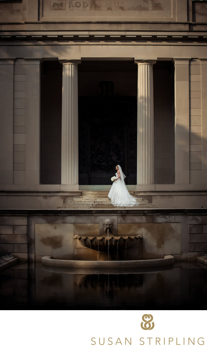 Rodin Museum Wedding Philadelphia