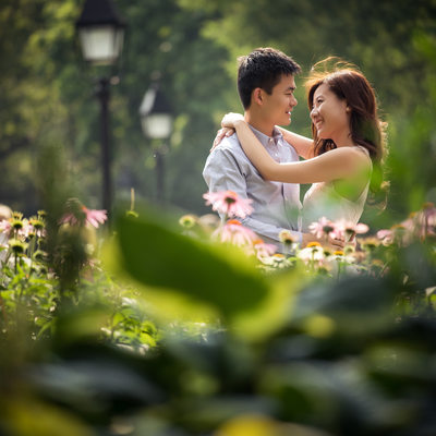 Washington Square Park Engagement Pictures