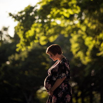 Maternity Photography in Central Park