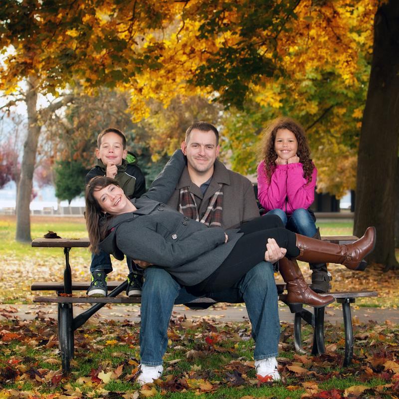 Outdoor Family Portraits in Spokane