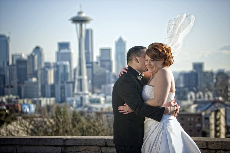 Urban Edgewater Wedding in Seattle
