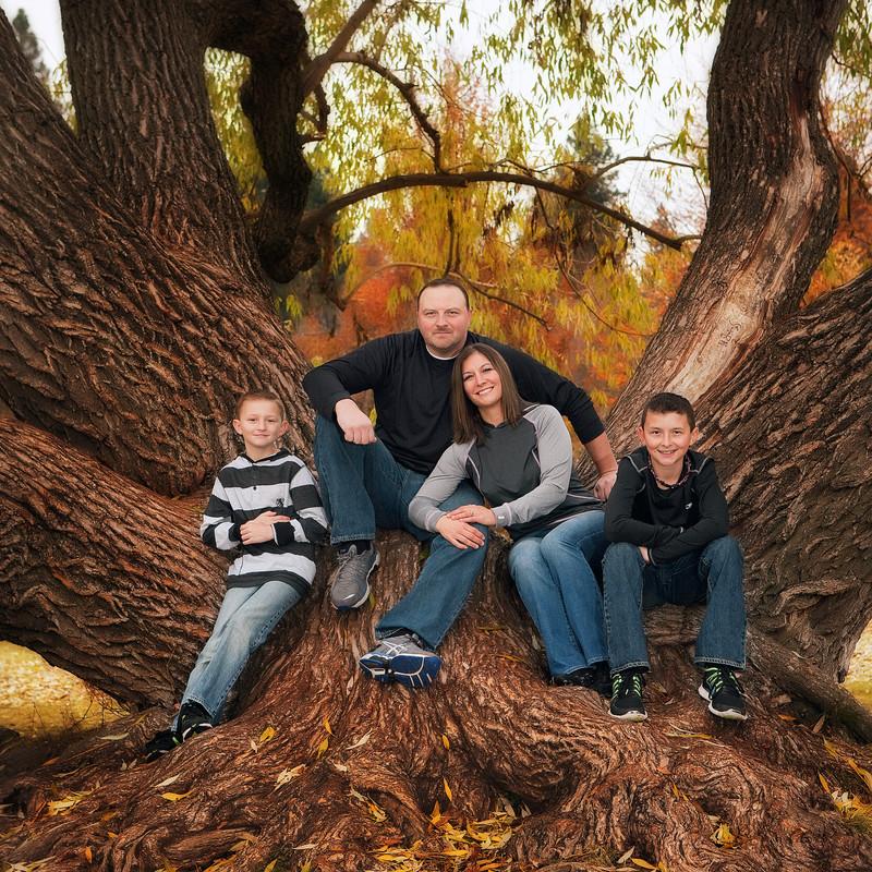 Finch Arboretum Family Portraits