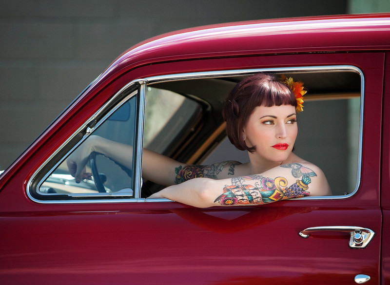 Pinup Girl Photographer in Spokane