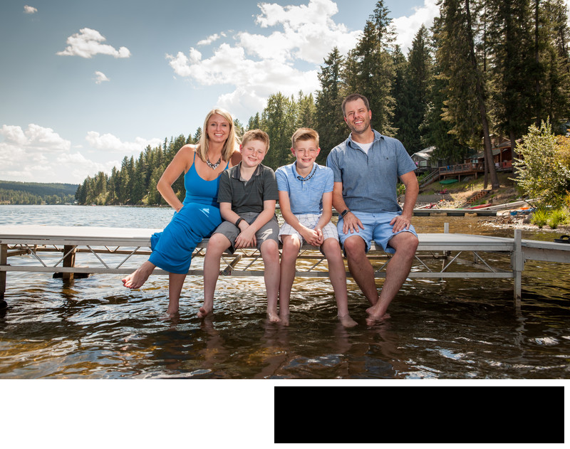 Sandpoint Idaho Family Portraits