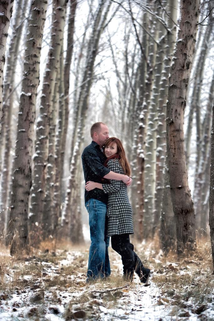 Winter Wedding North Idaho