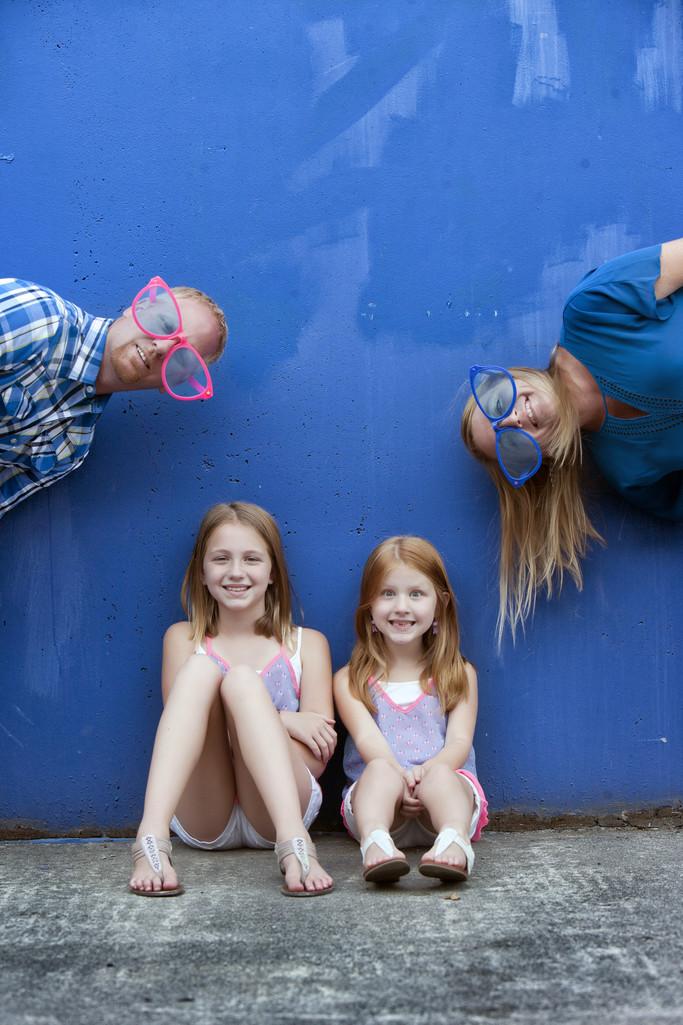 Quirky Family Photos in Spokane Valley