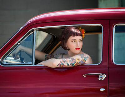 Boudoir Model Images in Spokane