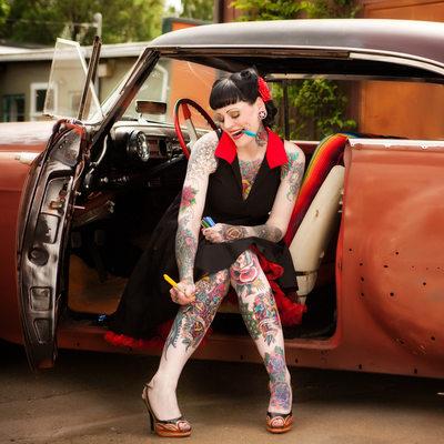 Tattoo Girl Photographers
