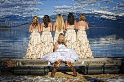 Priest Lake Idaho Wedding Photography