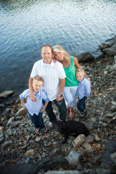 Hayden Lake Idaho Family Portraits