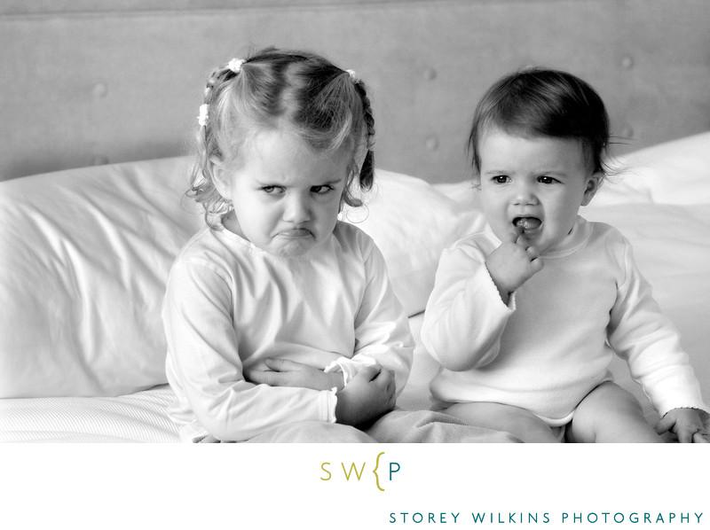 Toronto Family Portraits Sisters