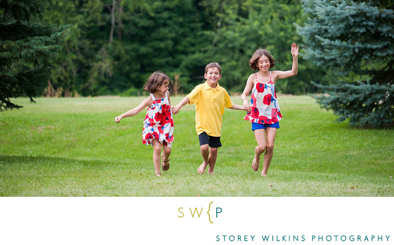 Siblings Portrait by Storey Wilkins Photography