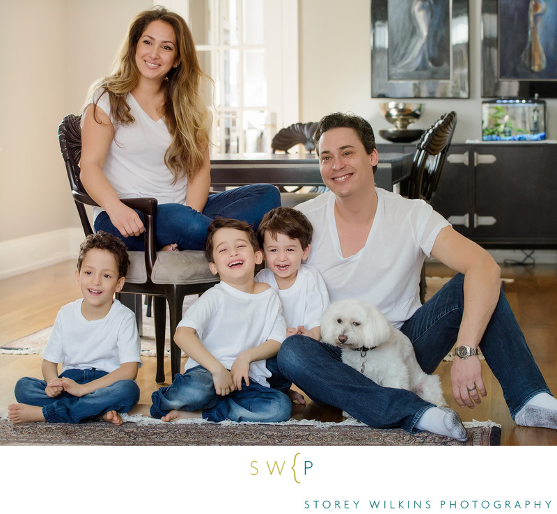 Storey Wilkins Photography Family Portrait