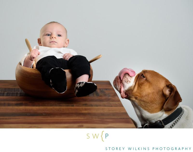 Storey Wilkins Photography Baby Portrait Fun