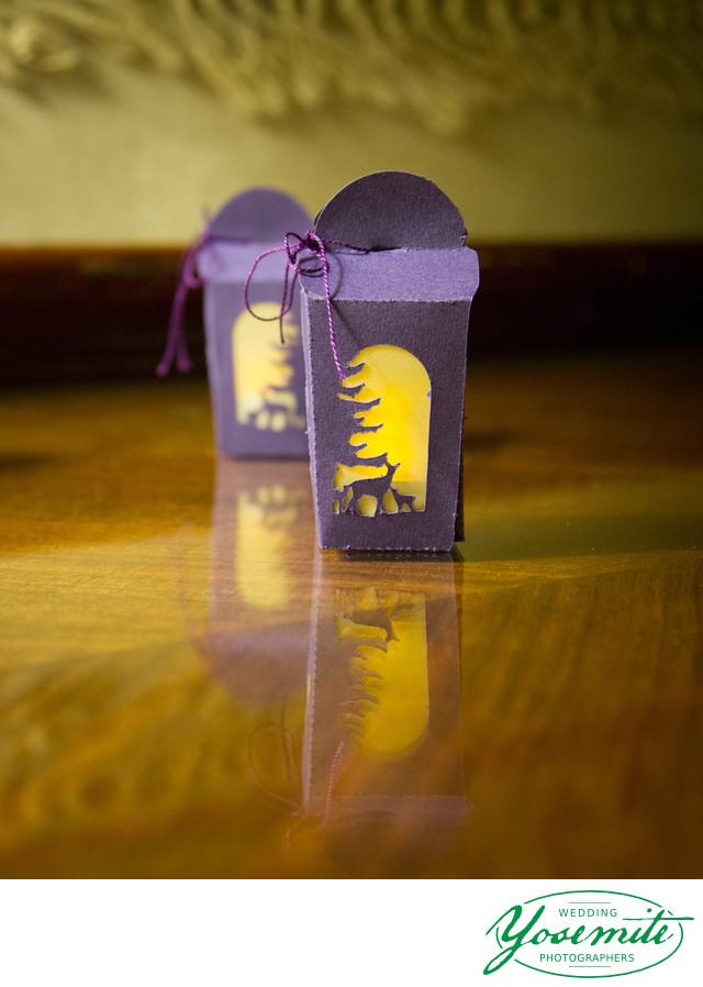 Tiny Lantern Gifts At Majestic Yosemite Hotel Reception