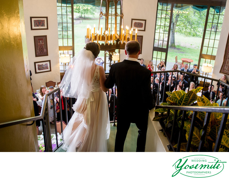 Bride And Groom Announced At Majestic Yosemite Hotel