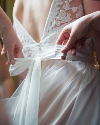 Bridesmaid Ties Ribbon For Bride's Wedding Dress Yosemite