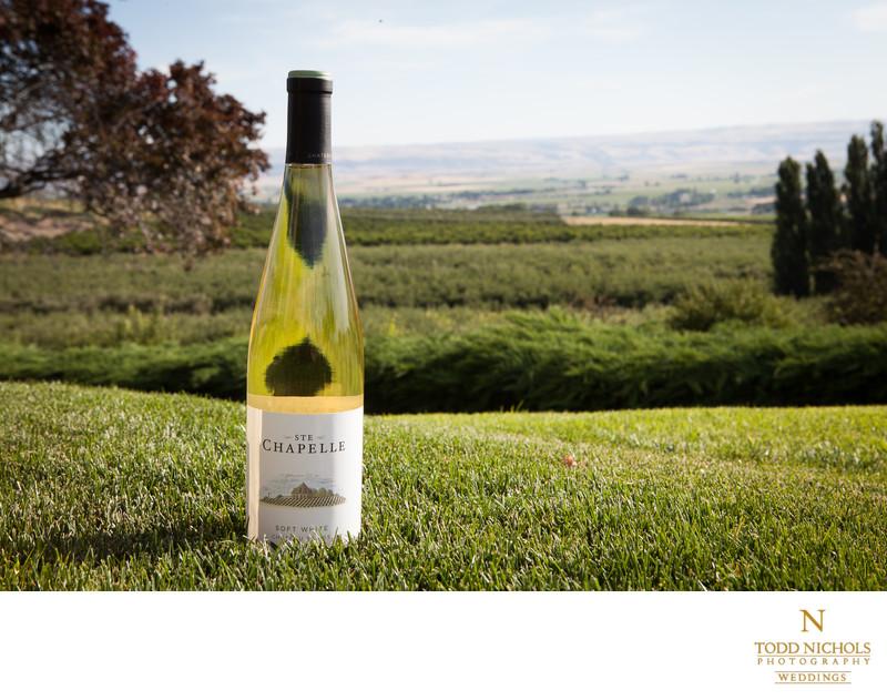 STE.Chapelle Wine Bottle
