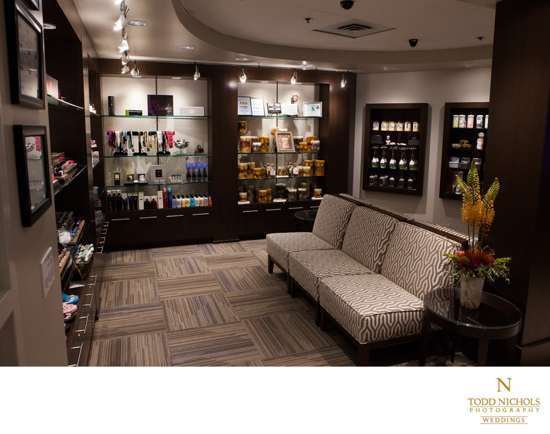 Lounge Area At Two Rivers Salon